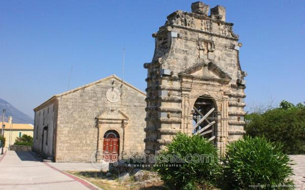 Church of Evangelistria at Kastro